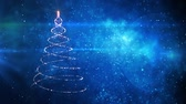 plakat : Merry Christmas tree. Winter holidays background