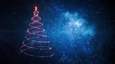 sylwester : Merry Christmas tree. Winter holidays background
