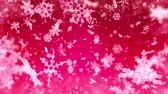 pohlednice : Winter holidays Christmas snowflakes background