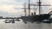harcos : 19th century warship HMS Warrior in Portsmouth, UK