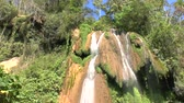 subtropics : Waterfalls in Topes de Collantes, Cuba Stock Footage