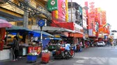 азиатский : Road Traffic and Markets in Street of Pattaya, Thailand
