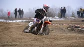 fogaskerék : Motocross. Off-road racing on enduro bikes. Slow motion