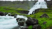 north stream : Dynjandi waterfall in Iceland