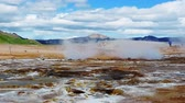 molas : Geothermal area at Hverir Stock Footage