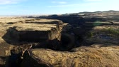 prérie : High altitude aerial footage of Palouse Falls and surrounding canyon Dostupné videozáznamy