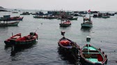 regata : Vietnam. Fishing boats near the shore.