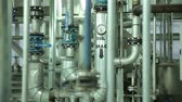 válvula : Metal Pipe The System in Manufacturing of Vegetable Oils. Purifying System