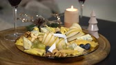 caju : Festive table with cheese mix