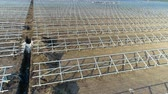коллектор : Construction of a solar power station