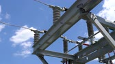 solarstrom : High voltage transformer equipment in a solar power station