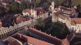 spirál : Flight around old town Telc, southern Moravia, Czech Republic. Original untouched LOG format.