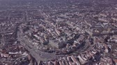 hungria : Aerial panorama of old town Sopron, Hungary. Original untouched LOG format.