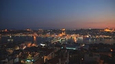 outstanding : Istanbul at Sunset Stock Footage