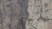 kings canyon : El Caminito del Rey zoom out from final bridge, route end