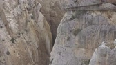 kings canyon : Tourists walking in El Caminito del Rey