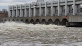 fornecimento : Flow of water at an electrical dam