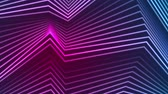 refraksiyon : Blue and ultraviolet neon laser glowing curved lines abstract motion background. Seamless loop. Video animation Ultra HD 4K 3840x2160