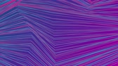 refração : Blue and purple curved refracted lines. Seamless loop. Video animation Ultra HD 4K 3840x2160
