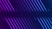 ultraviolet : Blue violet neon laser lines video animation