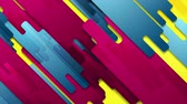 plakát : Colorful geometric hi-tech abstract video animation Dostupné videozáznamy
