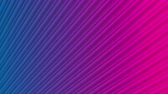 iridescente : Blue purple neon striped smooth video animation