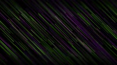 iridescente : Green violet abstract lines technology futuristic video animation Vídeos
