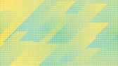 привет : Green and yellow geometric corporate motion design