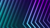 sötét : Blue violet neon laser lines abstract futuristic geometric motion background