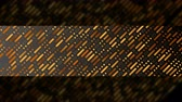 patron abstracto : Bronze minimal geometric shapes on dark background video animation