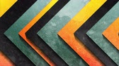 patron abstracto : Abstract geometric arrows with grunge texture video animation