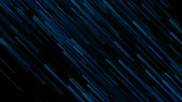 doğrusal : Dark blue abstract lines technology futuristic motion background Stok Video