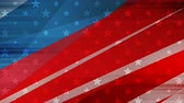 kampanya : Grunge concept USA flag abstract video animation