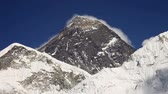 himalaia : Everest, Nuptse and Lhotse mountains view from Kala Patthar in Himalaya, Nepal