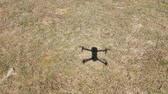 pairar : 4k view of shadow of a drone in high wind Vídeos