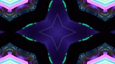 metragem : Poly Art Kaleidoscope Hypnotic Pattern Animation Footage