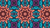 spirála : Poly Art Kaleidoscope Hypnotic Pattern Animation Footage