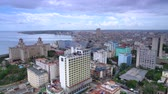 Havana from the height Stock Footage