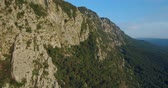pico : aerial footage of Mountain Nanos above Vipava valley covered with forest