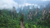 район : Rock landscape in Zhangjiajie