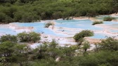 limonka : Huanglong travertine terraces