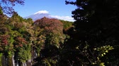 Mt. Fuji and shiraito falls