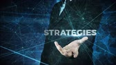 business man globalization and strategies concept