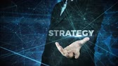 business man globalization and strategy concept