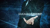 business man globalization and managament concept