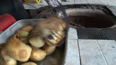 tandoor : Oven for making bread widespread in Central Asia