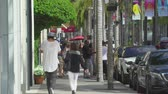 родео : Los Angeles street scene. Rodeo drive, Beverly Hills - August 2017: Los Angeles California, US