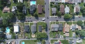 pensilvanya : Aerial view of American suburb. Suburban homes in Pennsylvania Catasauqua, PA, USA