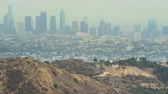 garden center : Los Angeles cityscape, skyline. View from Griffith park Los Angeles California, US