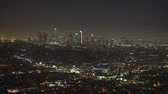 garden center : Los Angeles cityscape, skyline at night. View from Griffith park Los Angeles California, US